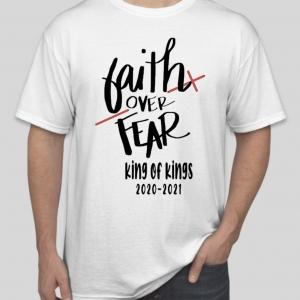 Faith Over Fear Tshirt White
